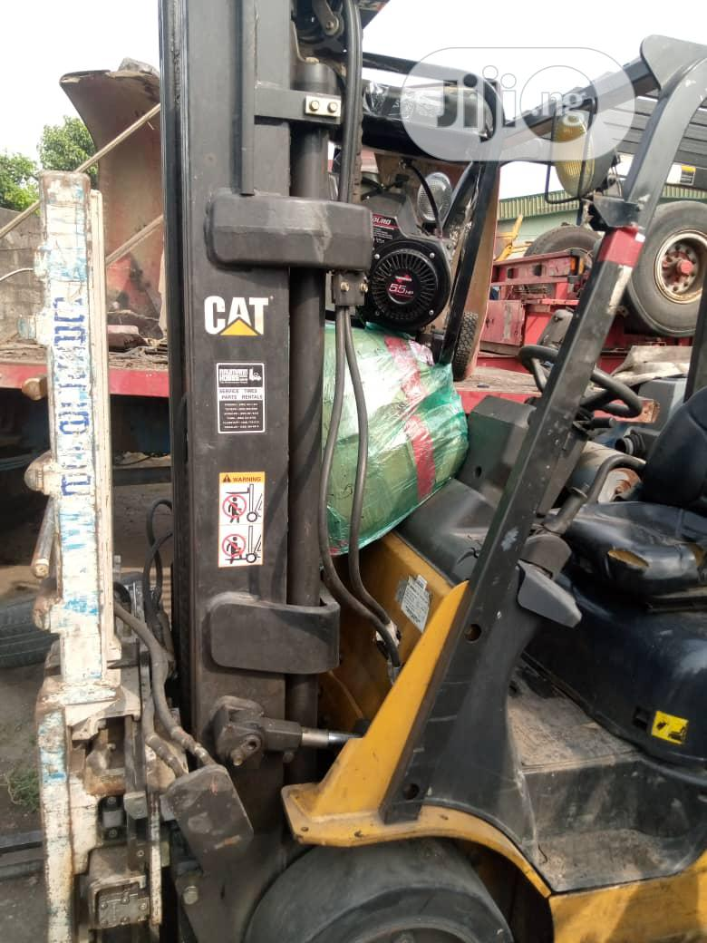 Newly Imported 3.5 Tons Cat Gas Forklift. | Heavy Equipment for sale in Amuwo-Odofin, Lagos State, Nigeria