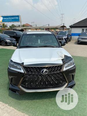New Lexus LX 2020 570 Three-Row Black | Cars for sale in Lagos State, Ikeja
