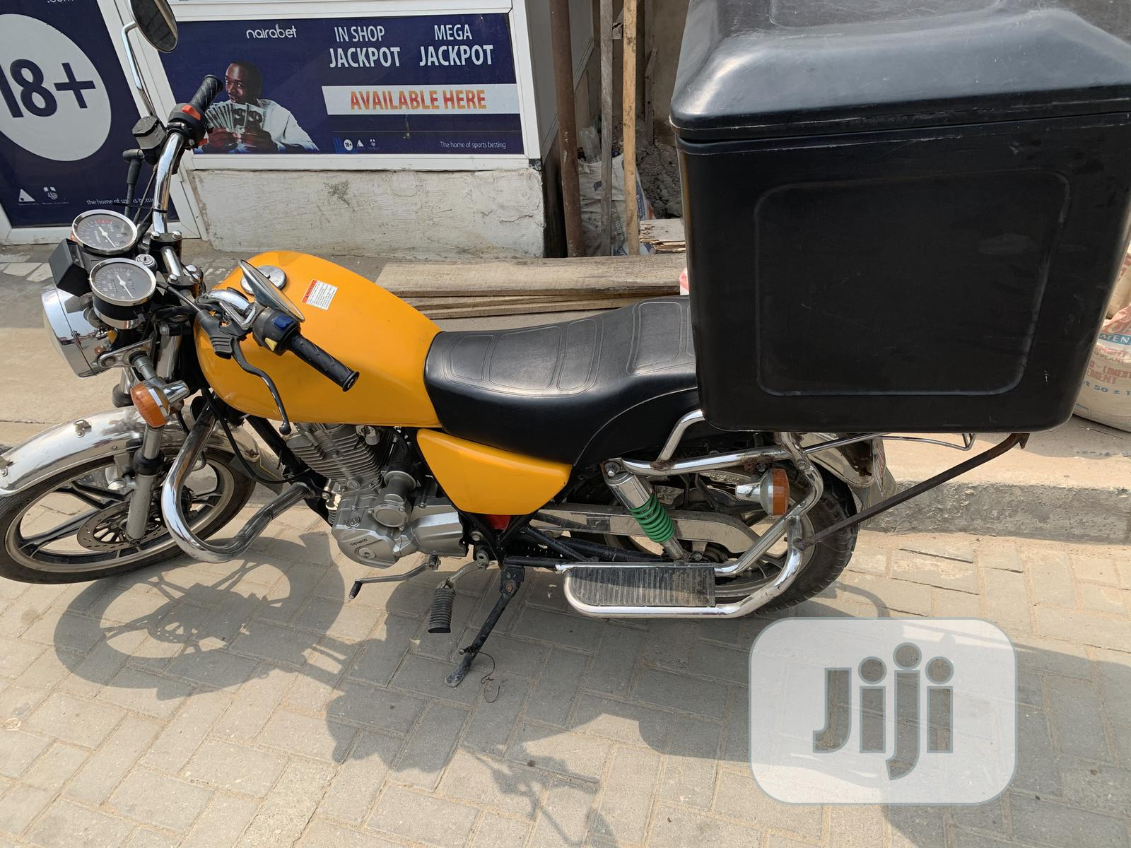 Archive: Motorcycle 2020 Yellow