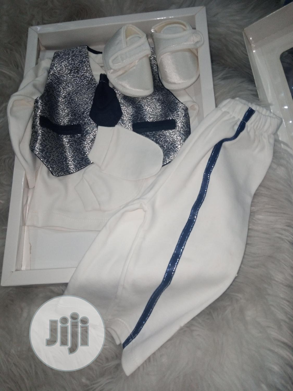 Archive: Christening Baby Boy Outfit