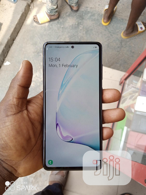 Samsung Galaxy Note 10 Lite 128 GB Black   Mobile Phones for sale in Ikeja, Lagos State, Nigeria