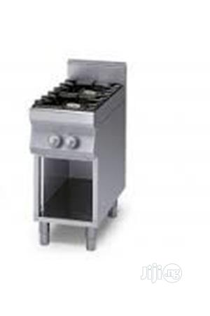 Industrial 2 Burner Gas Cooker + Open-cabinet(Made In Italy)   Restaurant & Catering Equipment for sale in Lagos State, Ikeja