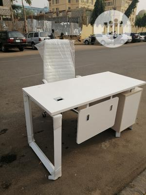 Quality Executive Office Table 1.4meter N Chair   Furniture for sale in Abuja (FCT) State, Central Business Dis