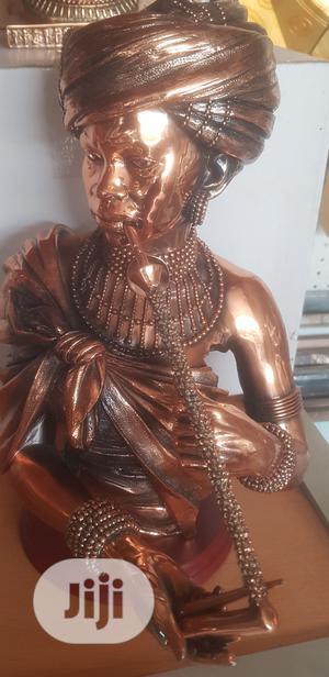 African Flutist Woman Figurine | Arts & Crafts for sale in Lagos State, Lekki