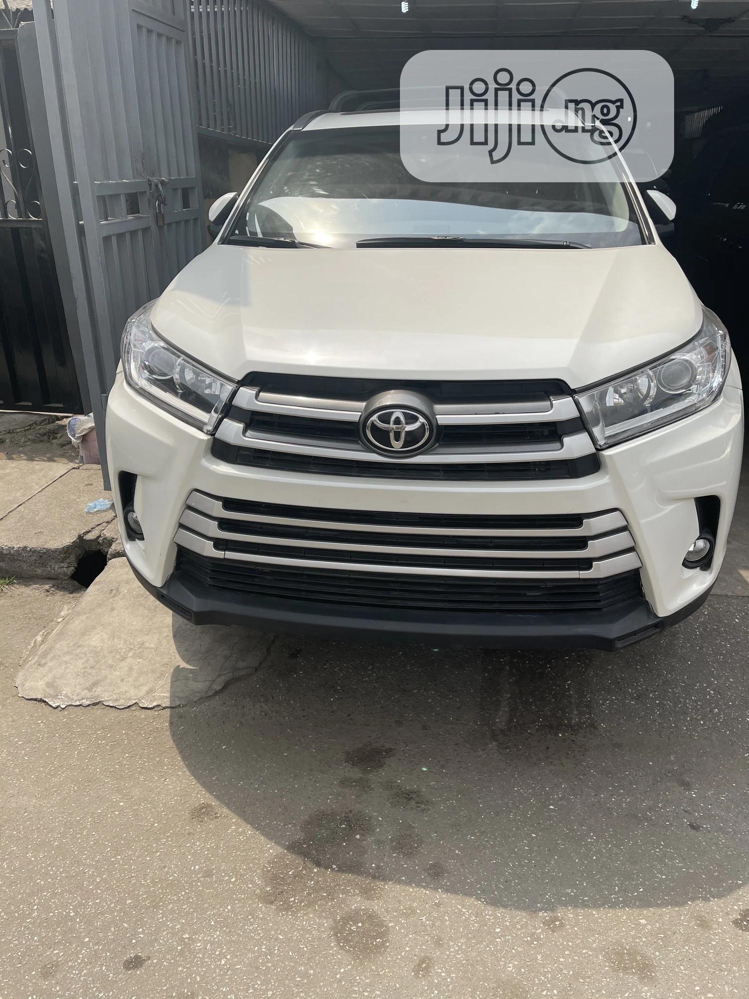Toyota Highlander 2017 White