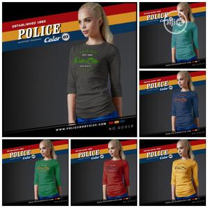 Police Gc019 Medium Size Long Sleeve T-Shirt   Clothing for sale in Lagos State, Surulere