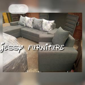 New Set of L-Shaped Fabric Sofa With One Single  | Furniture for sale in Lagos State, Ilupeju