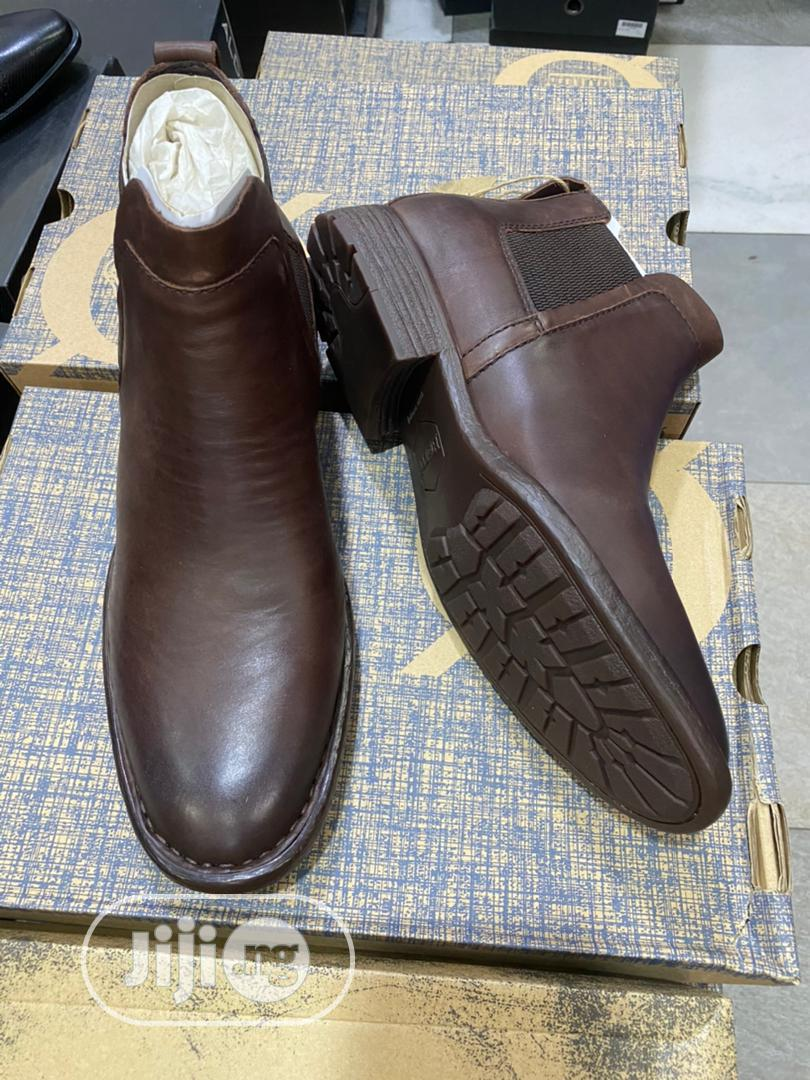 Archive: Born - American Brand Leather Ankle Shoes