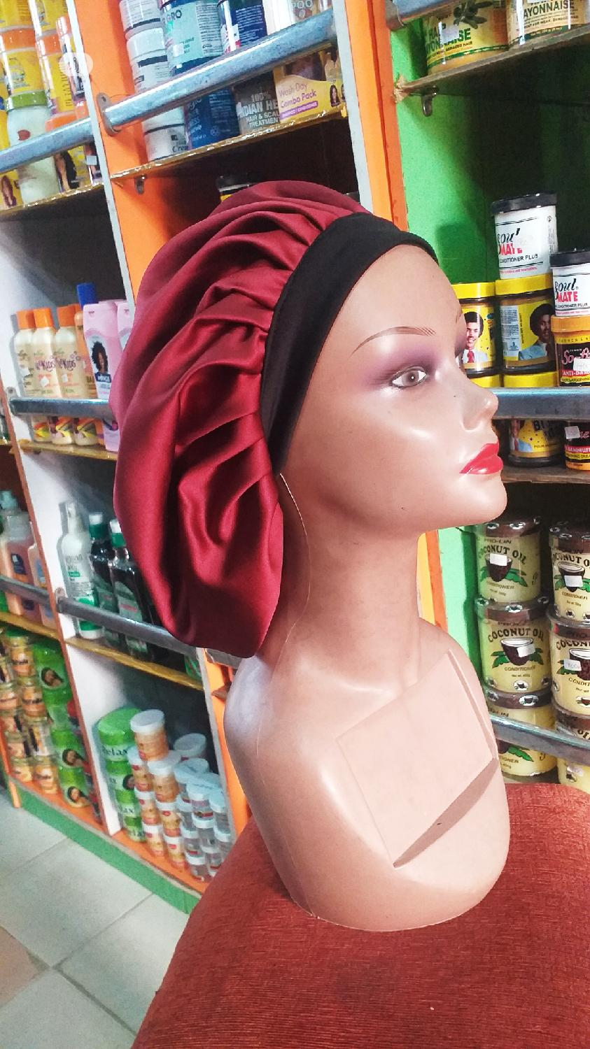 Satin Hair Bonnets   Clothing Accessories for sale in Port-Harcourt, Rivers State, Nigeria