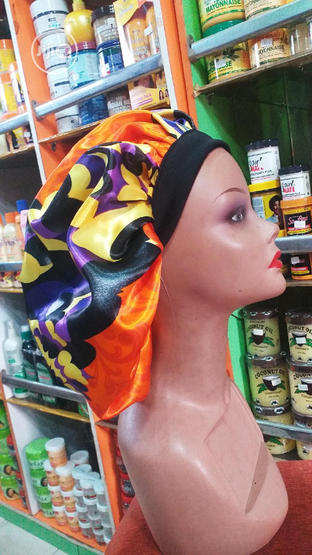 Archive: Flower Satin Hair Bonnets