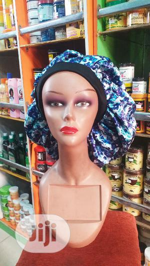 Flower Satin Hair Bonnets   Clothing Accessories for sale in Rivers State, Port-Harcourt