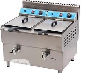 Brand New Double Deep Fryer | Restaurant & Catering Equipment for sale in Lagos State, Surulere