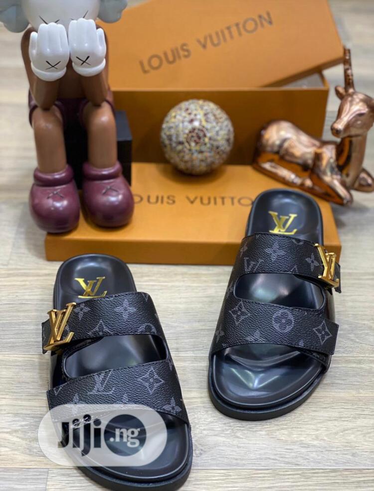 Unique and Quality Louis Vuitton Slide