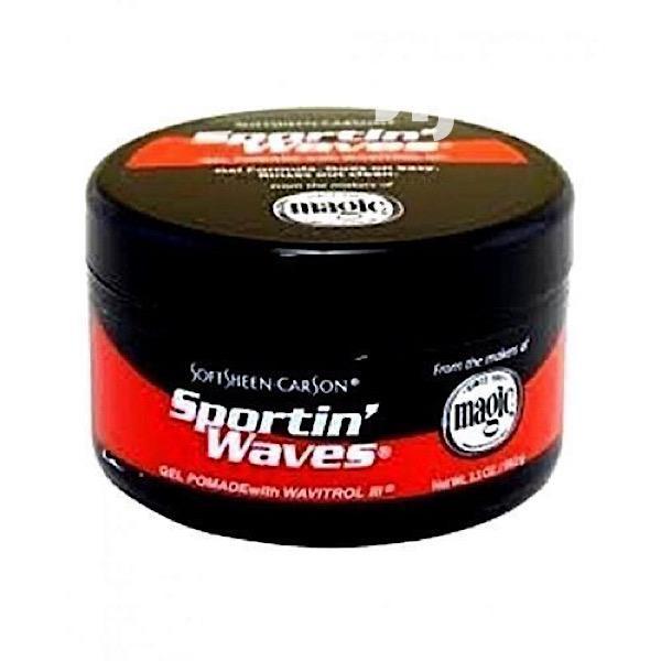 Sportin Waves Curling Hair Cream / Sporting Waves for Hair
