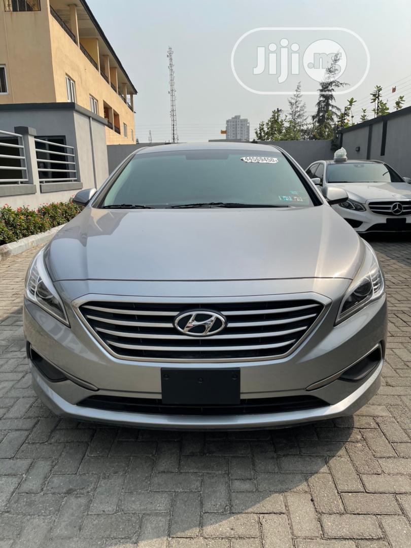 Hyundai Sonata 2016 Gray | Cars for sale in Lekki, Lagos State, Nigeria