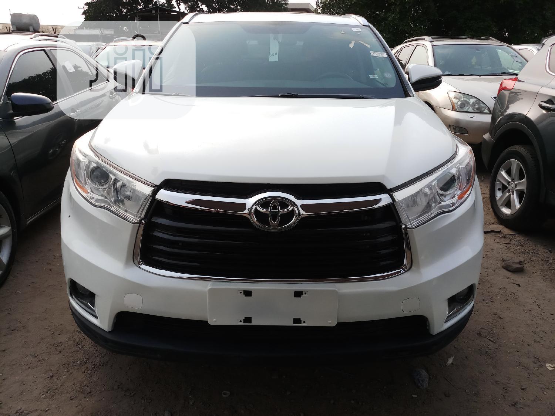 Toyota Highlander 2014 White