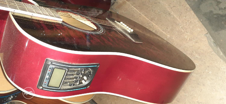 (Original Wood) Semi Acoustic Guitar. | Musical Instruments & Gear for sale in Ojo, Lagos State, Nigeria