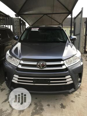 Toyota Highlander 2018 Blue | Cars for sale in Lagos State, Isolo