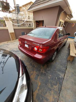 Toyota Corolla 2007 LE Red   Cars for sale in Abuja (FCT) State, Gwarinpa