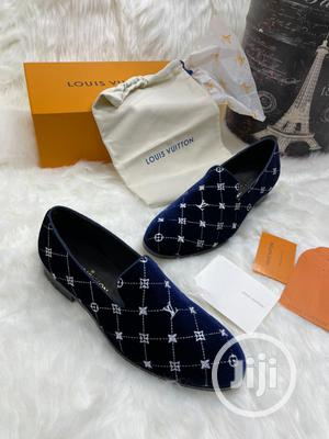 High Quality Louis Vuitton Velvet Loafers   Shoes for sale in Lagos State, Magodo