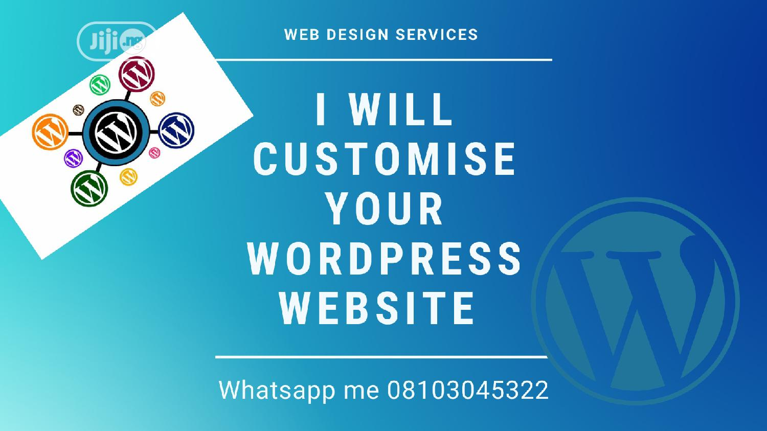 Archive: I Will Customise Your Wordpress Website