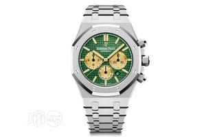 High Quality Audemars Piguet Green Dial Stainlesssteel Watch | Watches for sale in Lagos State, Magodo