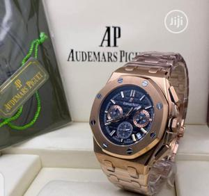 High Quality Audemars Piguet Black Dial Stainlesssteel Watch | Watches for sale in Lagos State, Magodo