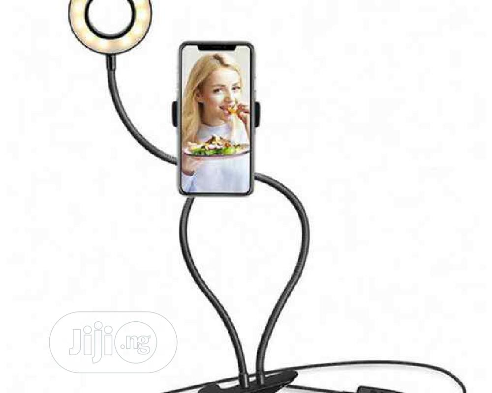 Selfie Ring Light With Phone Holder Stand