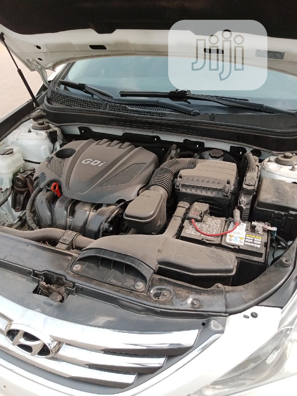 Archive: Hyundai Sonata 2014 White