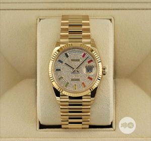 High Quality Rolex Day-Date Stainless Steel Watch | Watches for sale in Lagos State, Magodo