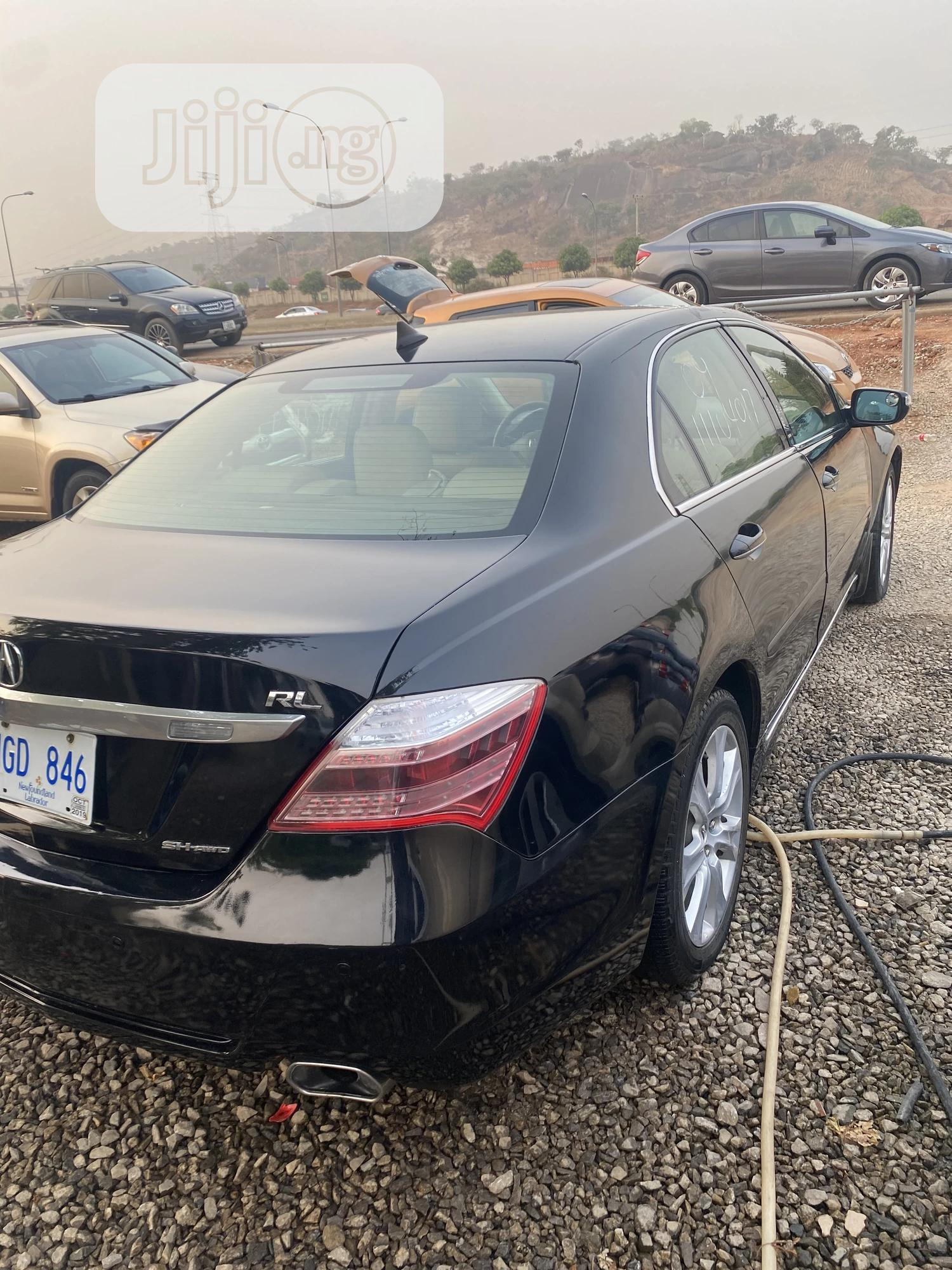 Acura RL 2008 Tech Package Black | Cars for sale in Gwarinpa, Abuja (FCT) State, Nigeria