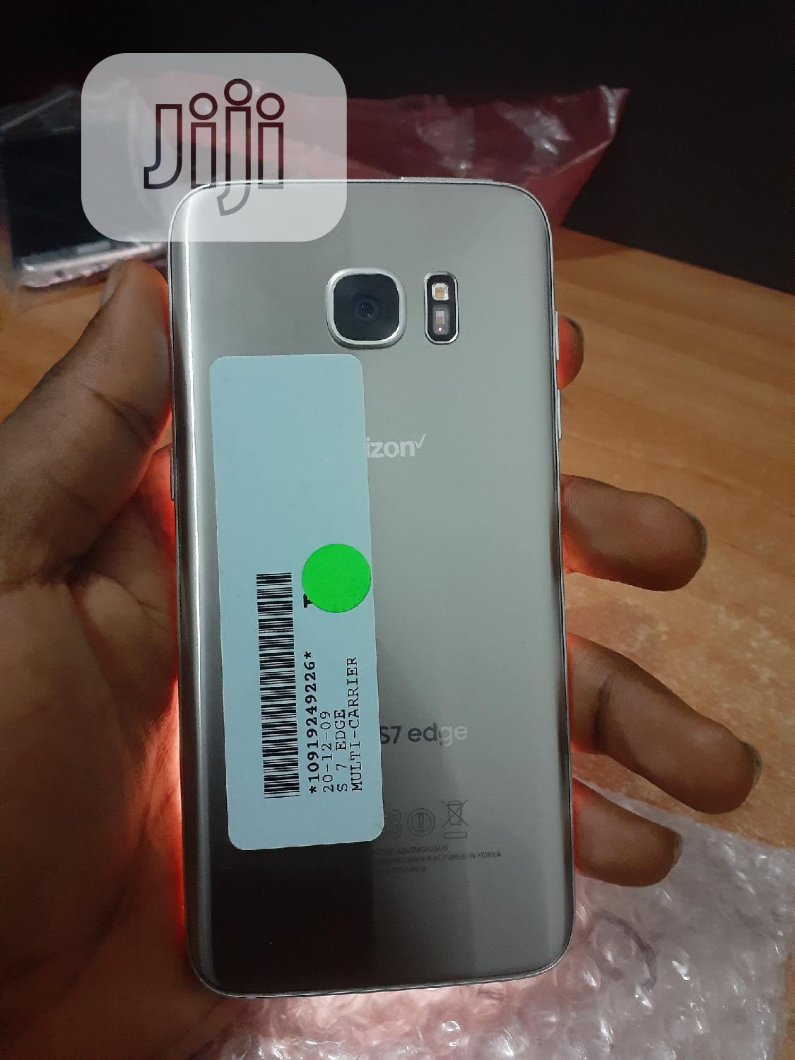 Samsung Galaxy S7 edge 32 GB Silver | Mobile Phones for sale in Surulere, Lagos State, Nigeria