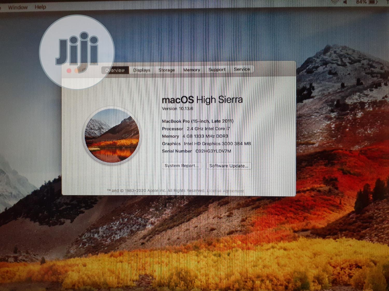 Archive: Laptop Apple MacBook Pro 4GB Intel Core I7 SSD 250GB