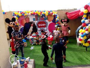 Colourful Birthday Backdrop   Party, Catering & Event Services for sale in Lagos State, Ikoyi