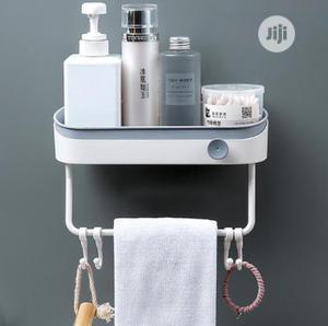 Plastic White/ Gray Storage Bathroom Rack. | Home Accessories for sale in Lagos State, Magodo