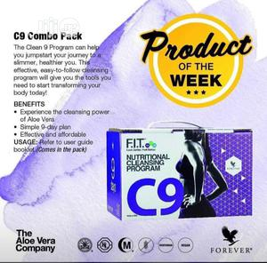 Forever Clean 9 Weight Loss and Detox Pack | Vitamins & Supplements for sale in Lagos State, Ikoyi