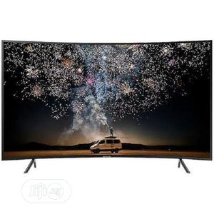 """Polystar 32"""" INCH SMART CURVED TV With Netflix- Black 