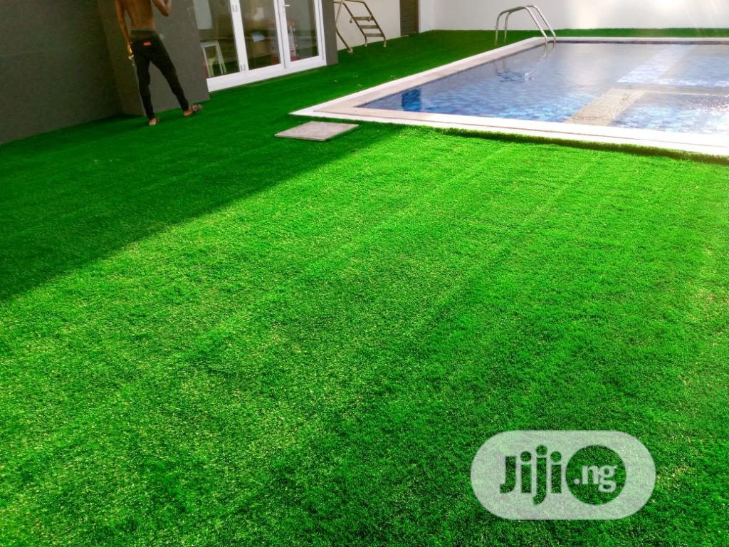 Synthetic Grass for Design and Decoration | Landscaping & Gardening Services for sale in Ikeja, Lagos State, Nigeria