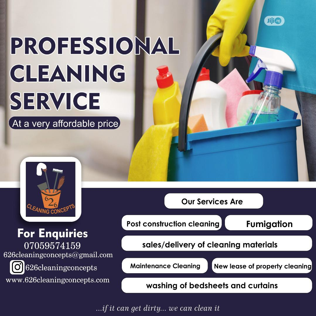 Registered Professional Cleaning Services