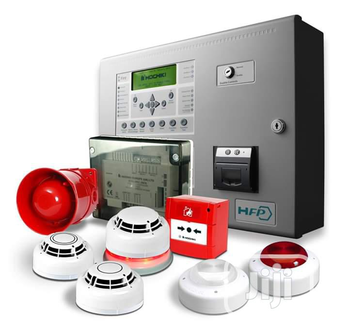 Fire Alarm And Smoke Detector System