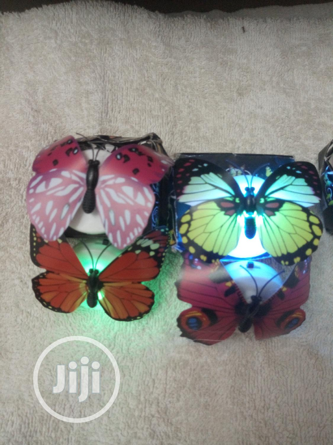 Colorful Changing Butterfly LED Night Glowin Wall Sticker | Home Accessories for sale in Kubwa, Abuja (FCT) State, Nigeria