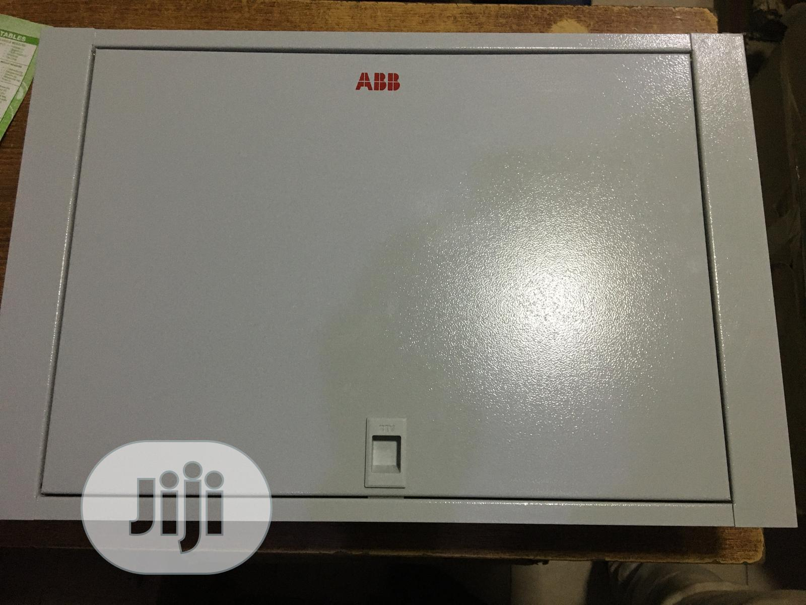 D6 3phase ABB Distribution Board