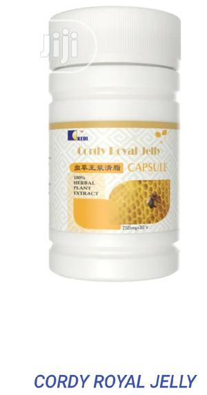 Kedi Cordy Royal Jelly 90 Capsule for Cholesterol, Heart   Vitamins & Supplements for sale in Ondo State, Akure