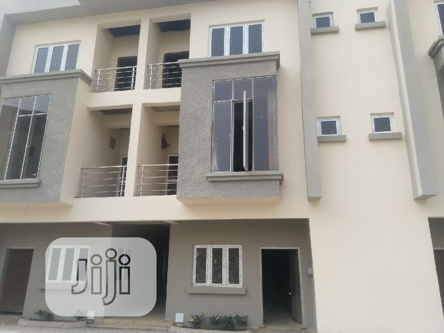 4 Bedrooms Terrace Duplex (Carcass) at Katampe Extension Sal   Houses & Apartments For Sale for sale in Katampe Extension, Katampe, Nigeria
