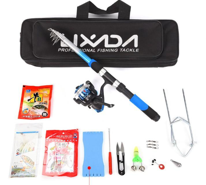Lixada Fishing Set - Rod + Reel And Assessories