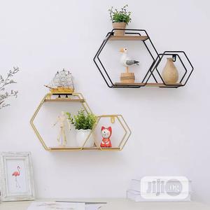 Metal Hexagon Shelf | Home Accessories for sale in Lagos State, Lagos Island (Eko)