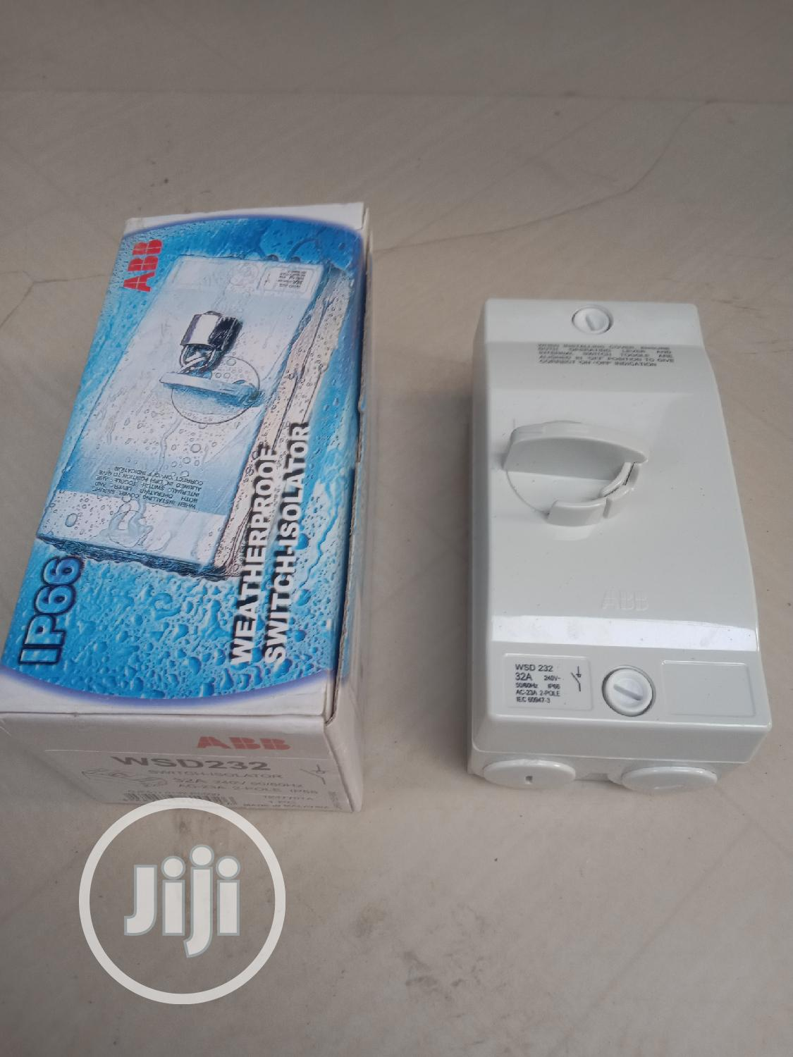 Abb Isolator Switch | Electrical Equipment for sale in Ikeja, Lagos State, Nigeria