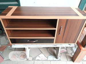 TV Stand With ABF Wood   Furniture for sale in Lagos State, Ojo