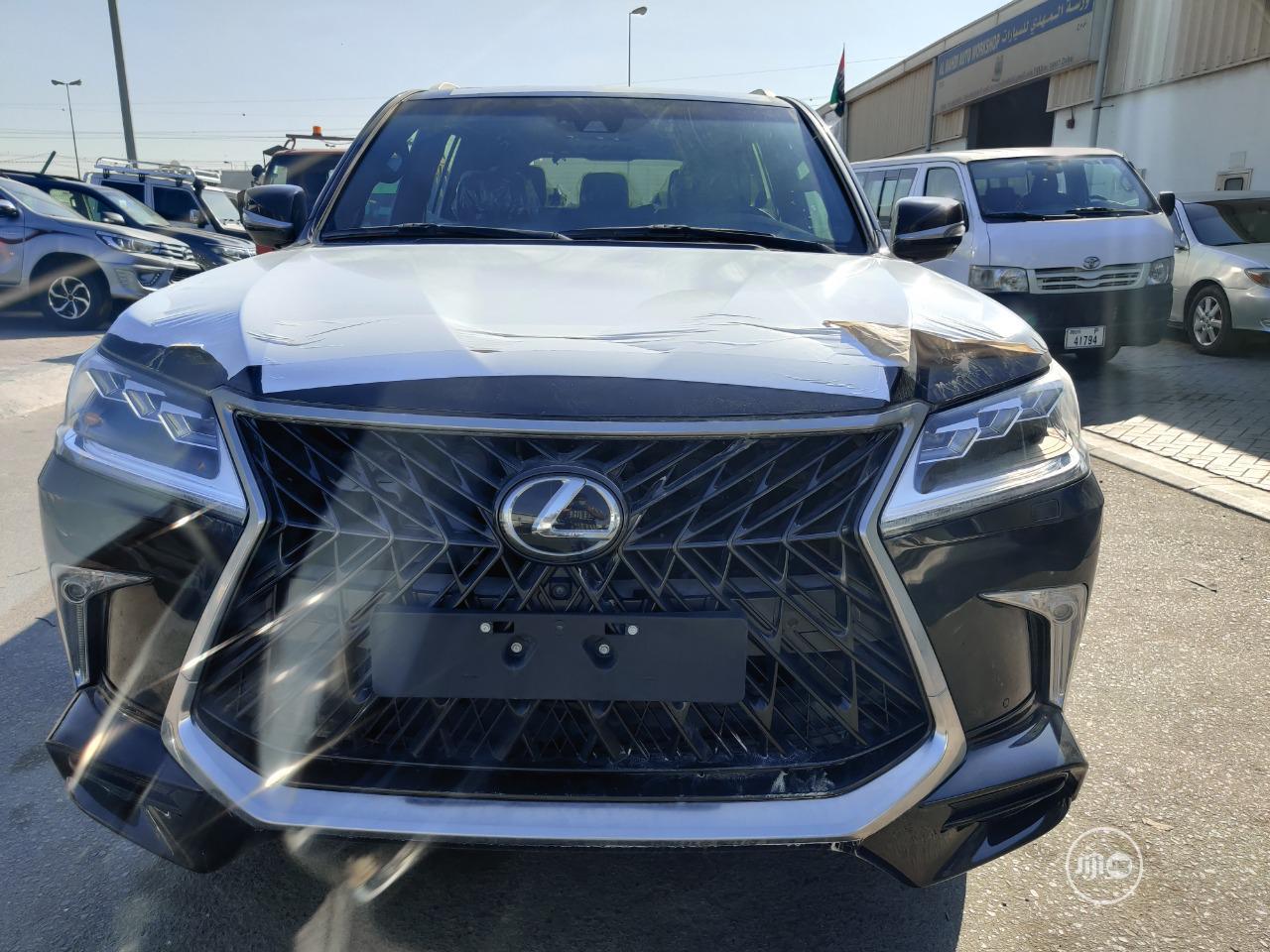 New Lexus LX 2020 570 Three-Row