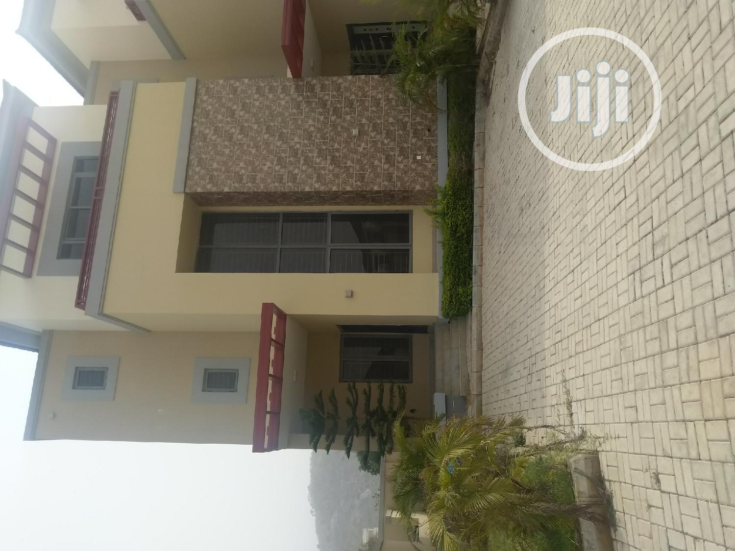 Brand New 4 Bedrooms Terrace Duplex at Katampe Extension